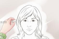 女性脸部素描画法教程 教你怎么画脸