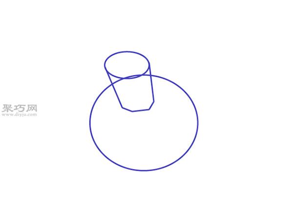 水仙花画法步骤 7