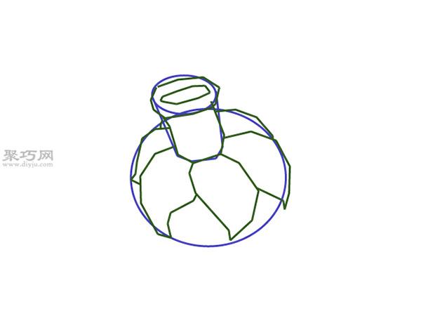 水仙花画法步骤 8