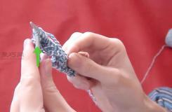 怎么样编织下针 编织图片教程