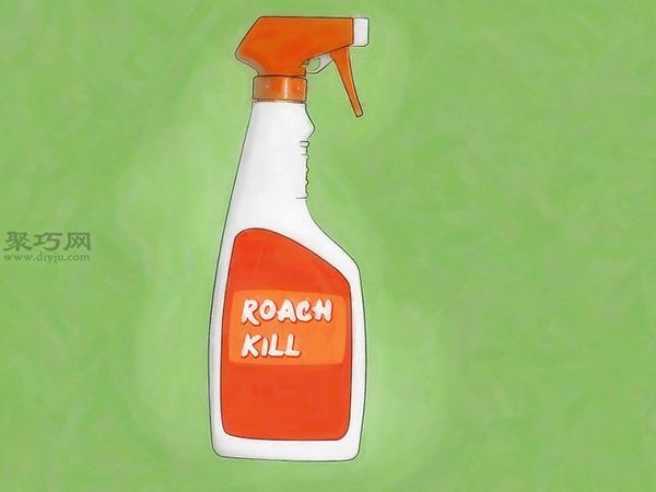 怎樣使用殺蟲劑消滅蟑螂10
