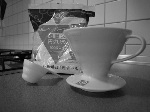如何圆锥形单只咖啡壶煮咖啡