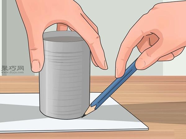 手工制作锡罐喂食器图片教程 6