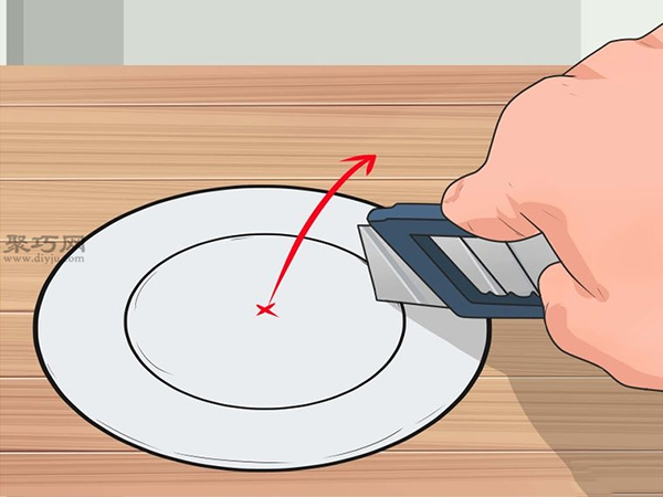 手工制作锡罐喂食器图片教程 8