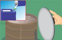 把雨水变成蒸馏水图解教程 来看蒸馏水如何做