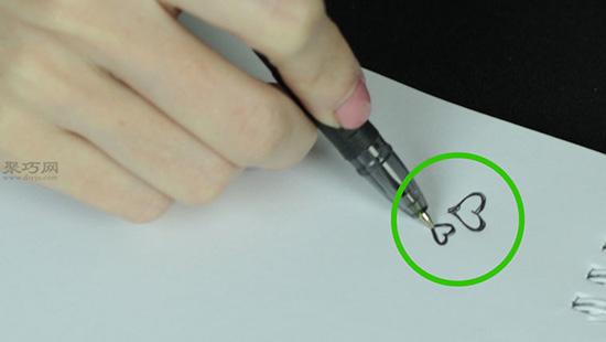 用眼线笔画纹身教程 1