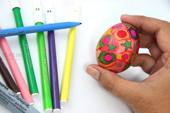 怎么样画复活节彩蛋 9