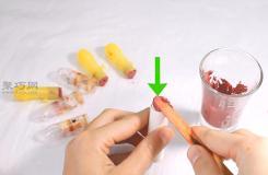 用旧口红DIY唇膏步骤 来看如何做唇膏