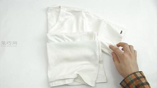 扎染T恤教程图解