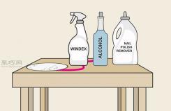 怎样清除家具上的永久性污渍 一起学消除永久性印记教程