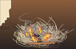 怎么钻木取火 野外生火图解教程