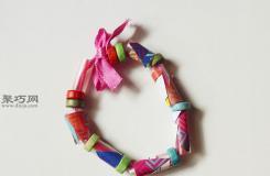怎么样DIY儿童风手链 来看手工制作手链步骤