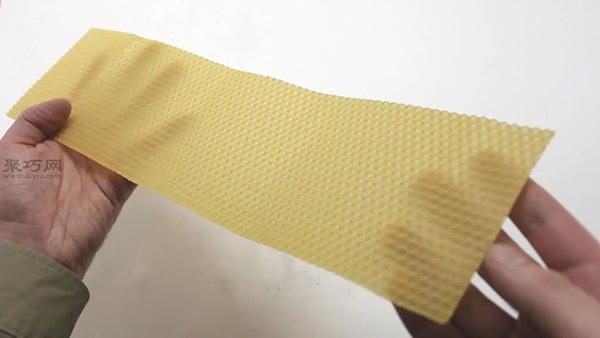 手工制作卷起的蜂蜡教程图解