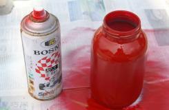 怎样给玻璃和陶瓷喷漆 一起学喷漆的方法