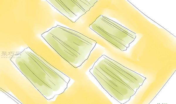 手工DIY玉米皮娃娃方法 7
