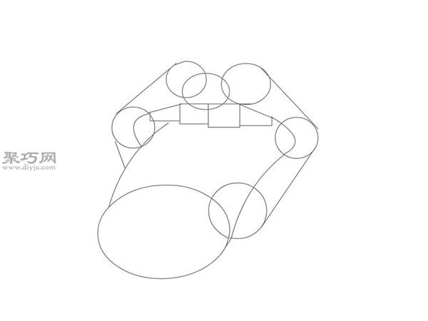 摇滚嘴型的画法步骤 19