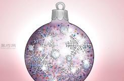 手工制作圣诞树闪光球挂件教程图解 一起学圣诞树挂件如何做