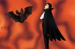 让吸血鬼和蝙蝠齐飞画法教程 教你怎么画吸血鬼
