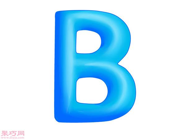 画A-Z立体字母 8