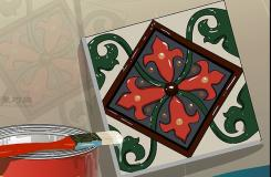 画瓷砖画图解教程 怎么画瓷砖画
