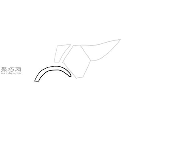 山地摩托车的画法 3