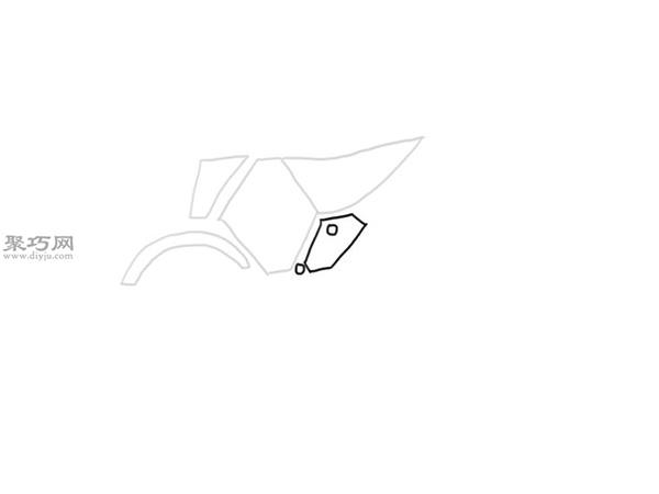 山地摩托车的画法 4