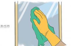 怎么使用清洁用品清除黑霉 一起学清除黑霉教程