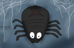 一起学万圣节大鬼蜘蛛如何 如何DIY万圣节装饰