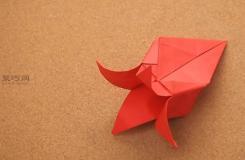 怎样折纸花 折纸花教程图解