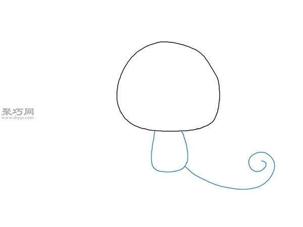 卡通猴子画法步骤 10