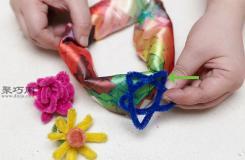制作宝宝发带步骤 怎样制作宝宝发带