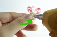 手工DIY花型蝴蝶结图解教程 来看如何做花蝴蝶结