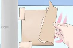怎样给玻璃磨砂花纹 给玻璃磨砂教程图解