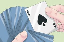 怎么样找出黑桃A 一起学用扑克牌变魔术步骤
