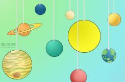 用气球做太阳系模型步骤 来看如何做太阳系模型