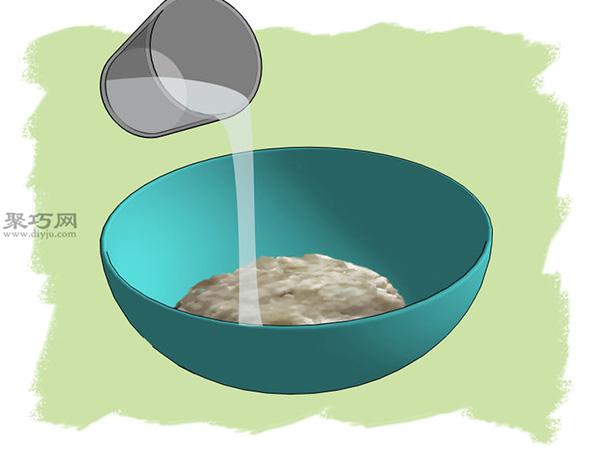 熟石膏和速食土豆泥做老鼠药图解教程 12