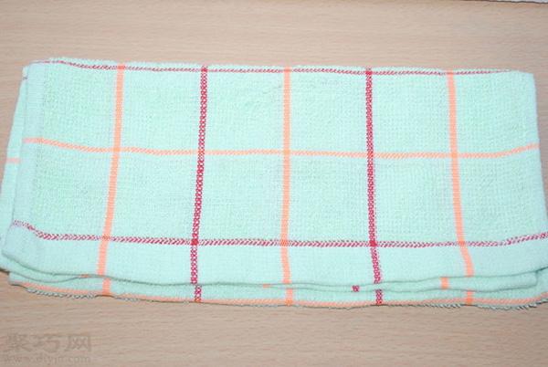 用全棉毛巾自制卫生巾怎么 11
