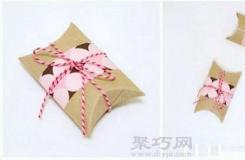 卷纸筒手工制作创意礼品盒