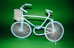 吸管手工制作自行车图解教程