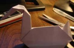 越狱天鹅折纸 越狱中MICHAEL和SARA传情天鹅如何折纸