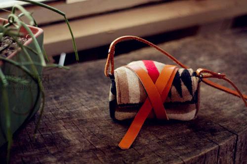 冬日温馨DIY 羊毛相机背袋