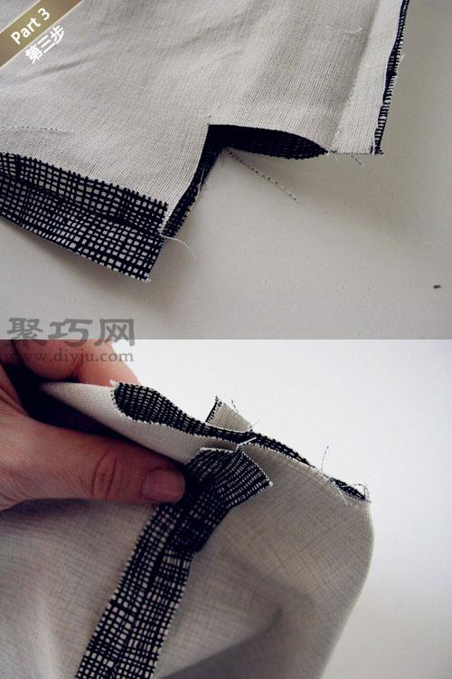 手工布艺环保手提袋教程 教你如何DIY布艺手提袋