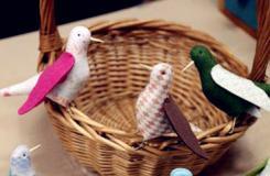 手工布艺制作小动物 教你如何DIY布艺鸽子