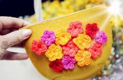 如何DIY化妆包 手工布艺小包包教程