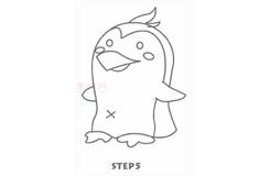 儿童简笔画企鹅的画法 教你如何画企鹅简笔画