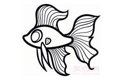 幼儿简笔画搏鱼的画法 教你如何画搏鱼简笔画