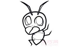 儿童简笔画蚂蚁的画法 教你如何画蚂蚁简笔画