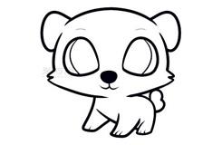 儿童简笔画狗狗的画法 教你怎么画狗狗简笔画