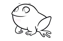 简笔画小青蛙的画法 教你如何画小青蛙简笔画