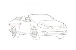 幼儿简笔画敞篷跑车的画法 教你如何画敞篷跑车简笔画